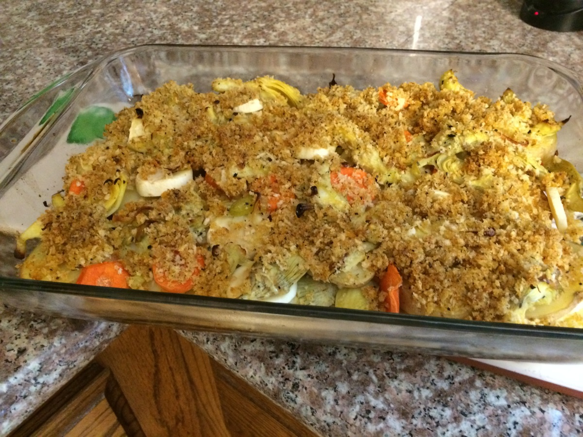 Vegan Artichoke and Potato Gratin – Recipes and Tales from a Crunchy ...